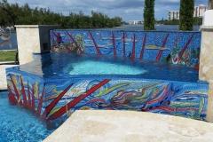 custom pool mosaic