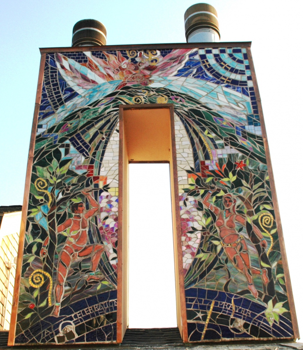 Mosaic Chimney-Earth-Upper-North