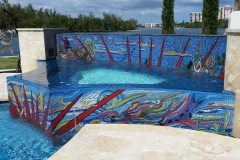 custom pool mosaic